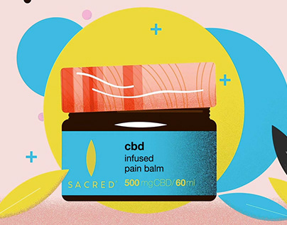 Animated Promotion - CBD Pain Balm