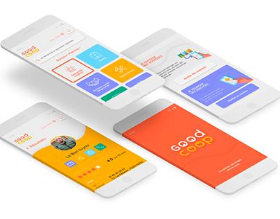 Webdesign - Création application mobile Good Coop