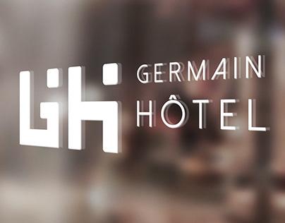 Signature pour GERMAIN HOTEL - Logos & apps