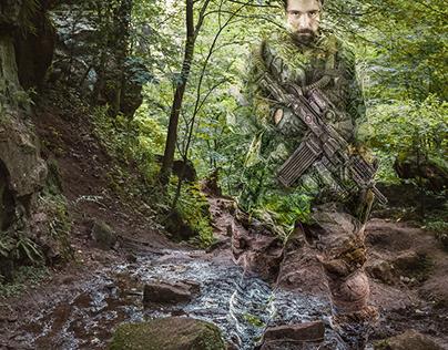 Predator-Camouflage