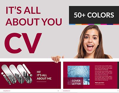 FREE CV Presentation template