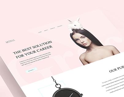 Mona | Web Design & Art Direction