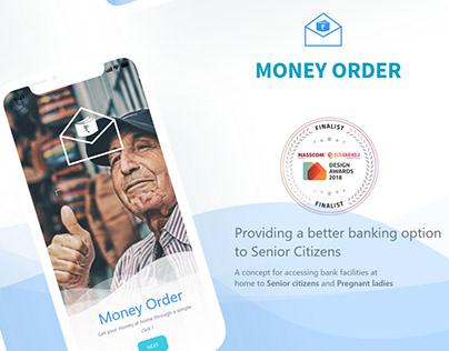 Money Order : A Banking facility for senior citizen