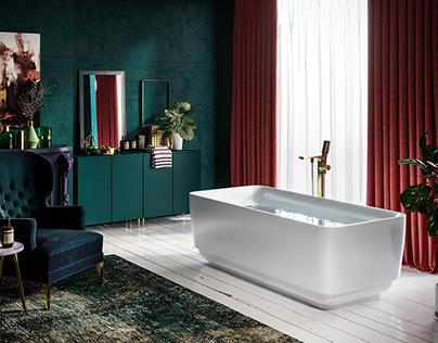 Bathroom Design Product Rendering 2017