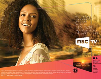 Campanha NSC TV/Grupo NSC