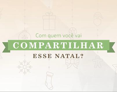 Com quem você vai compartilhar esse Natal?