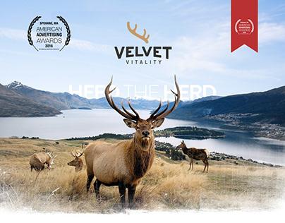 Velvet Vitality Branding