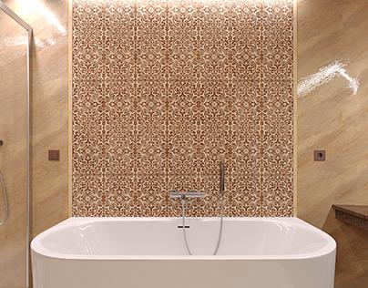Ванная комната для зимней резиденции