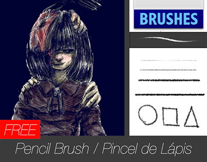 Free brush - Pencil brush