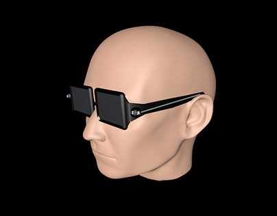 Glasses Modelling For Blind People