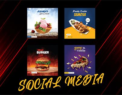 Food Social Media Banners