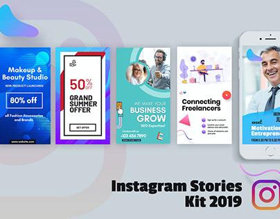 Creative Instagram Stories Kit 2019