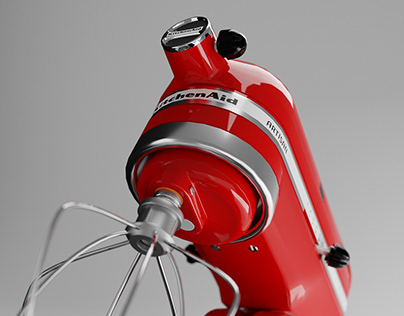 3D Modeling | Mixer Kitchen Aid | Blender
