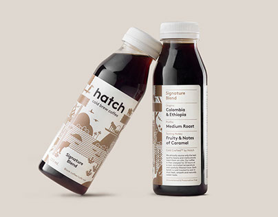 Hatch Cold Brew Coffee Identity, Packaging & Website