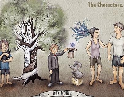 BOX WORLD - Character Design