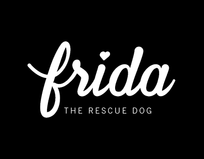 Frida The Rescue Dog