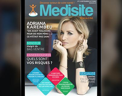 Medisite magazine, digital magazine