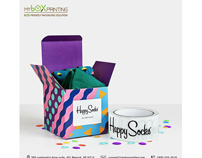 Colorful Packaging is the Finishing touch of product