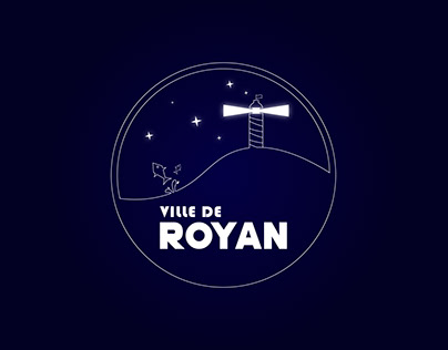 Logo pour la ville de Royan
