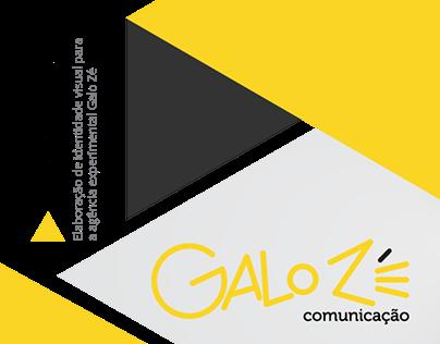 Criação de Logotipo - Agência Galo Zé