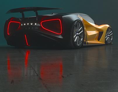 Lotus Evija CGI.