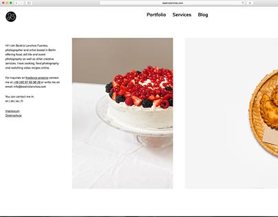 Website and online portfolio