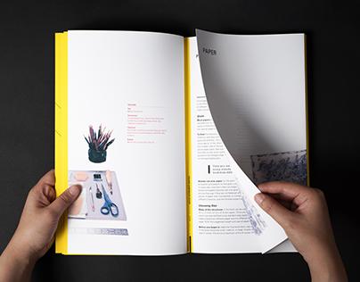 Folded Handmade Book