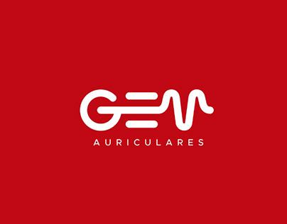 Animación de logo GEM