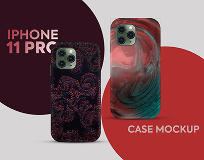 Free iPhone 11 Pro Case Mockup