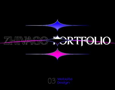 ZHIVAGO PORTFOLIO作品集 - 03 Website Design