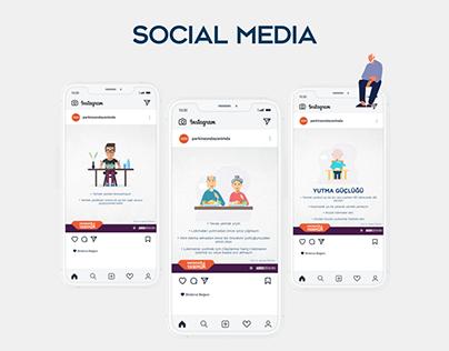 Parkinson'da Yanımda Social Media Design