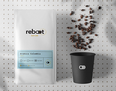 Reboot Tech Cafe - Visual Identity