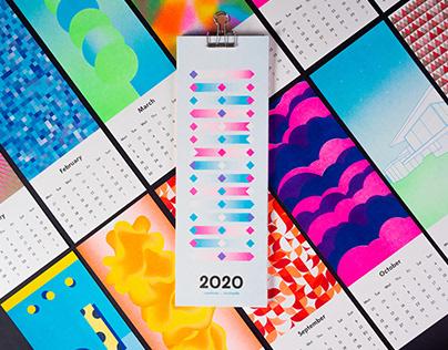 Riso Wall Calendar 2020