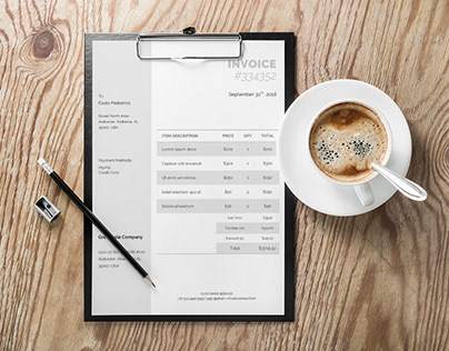 Free Corporate Invoice Template