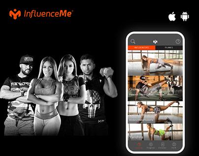 Influenceme - Fitness App