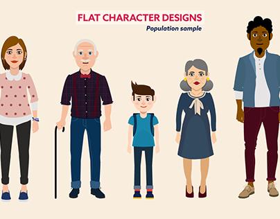 Concepts de personnages