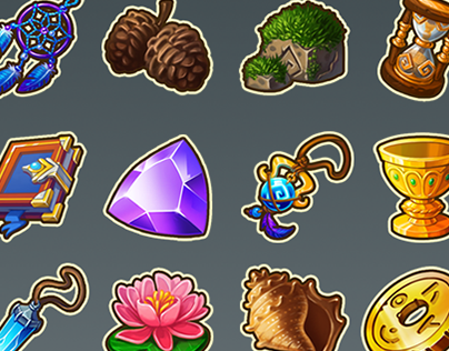 Icons for Tales of Windspell