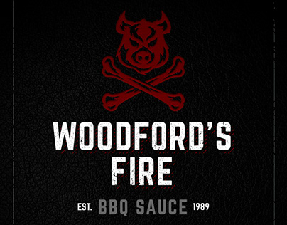 Woodford's Fire BBQ Sauce