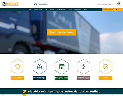 Website redesign Spedifort