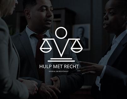 Hulp met recht | Logo design