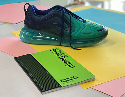 MegaChallenge: Nike, printmaking