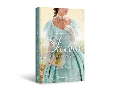 """Cover design of """"Fascínio da nobreza"""""""
