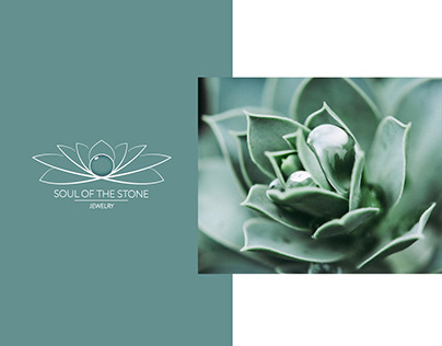 Development of a corporate identity for a jewelry work