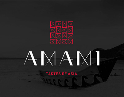 Amami Restaurant Branding