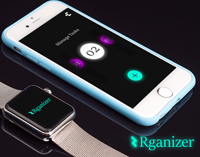 Rganizer App for Applewatch and iPhone
