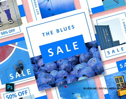 Bluesline Social Media Pack
