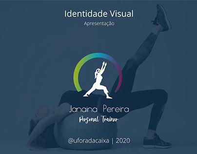 Identidade visual - Janaina Pereira - Personal