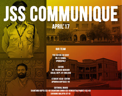 Newsletter Issues for JSS Communique.