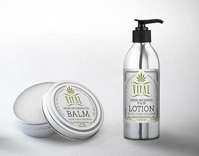 VITAL (natural cannabis products rebranding)