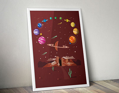Planetary Color Wheel